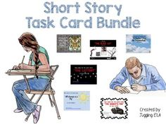 This growing bundle includes 16 sets of short story task cards that are currently available in my TpT store. That's 85 pages of task cards. If you bought all of these task card sets separately it would cost $37.25. Buying this bundle will save you over 50% off the price.