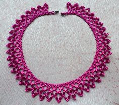Free pattern for necklace Incanto