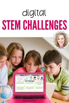 STEM goes digital with these fun and engaging design challenges. 10 websites and 90 challenges perfect for grades 3 and up. If you are in a paperless classroom or 1:1 with laptops or Chromebooks then these are ideal for you, but can also be used during computer lab time or with the laptop cart