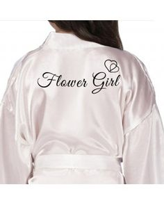 15a348de78 Personalised Lilac Satin Robe For Wedding Party Bride