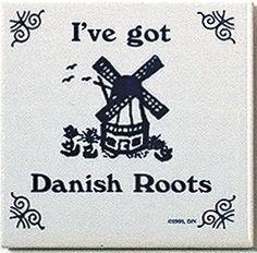 Danish Culture Magnet Tile (Danish Roots)