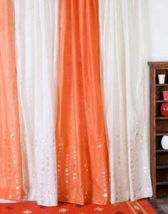 Chanderi Circle Curtains