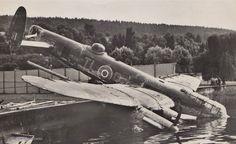 35 Squadron Lancaster III ND759 TL-R W/O. Peter, RAF Graveley,Lake Constance, Steckborn, Switzerland