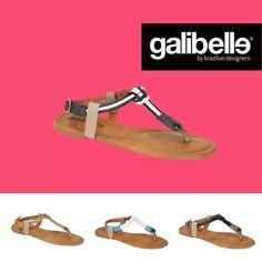 Karina Sandals in sexy black straps. #Sandals #GoToLook