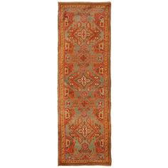 Antique Turkish Oushak Rug    From a unique collection of antique and modern turkish rugs at https://www.1stdibs.com/furniture/rugs-carpets/turkish-rugs/