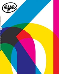 Eye no. 83 vol. 21, typography special issue, 2012.  Overprinted front cover design based on detail from Knoll poster designed by Massimo Vignelli, 1966. (See Reputations interview, pp.12-29).  Art editor: Jay Prynne.  Art director: Simon Esterson. Editor: John L. Walters
