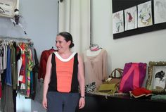 Lucia Rapaza Ela Diz, tshirt by Luna Moreno