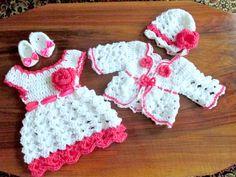 Neugeborene Take home Outfit legen erste Outfit von paintcrochet