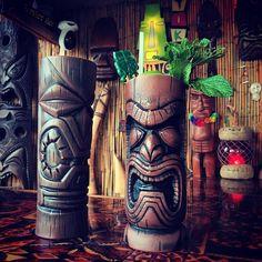 "58 Likes, 1 Comments - BeachbumzTikiPop - Maui, HI (@tikipop) on Instagram: ""Cheers to @minitikimeow & @atomicchick for picking me up these beautiful mugs at @tikioasis!! ❤️❤️…"""