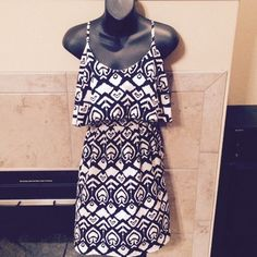 Dress Light weight summer sun dress. Can be thrown over a swimsuit or dressed up with a belt and jacket. In perfect condition only worn a few times on vacation. Indulge Dresses