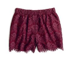 Love!! these @Madewell Flowerlace Shorts. perfect color for fall! Now until 10/24 Madewell has FREE shipping & returns so you can try these shorts too!