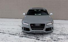 壁紙をダウンロードする ウディRS7, 2017, 4リットルTFSI, チューニングAudi, ドイツ車, Audi