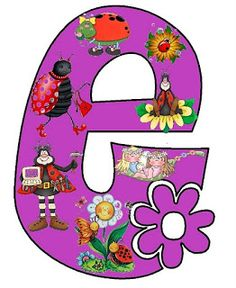 1000 images about mi mio on pinterest alphabet - Letras decorativas infantiles ...