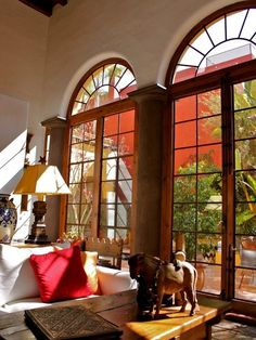 The great room in our second home in San Miguel de Allende, Mexico!