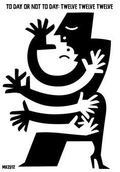 Max Kisman black and white poster art. #blackandwhite #at #artwork http://www.pinterest.com/TheHitman14/black-and-white/
