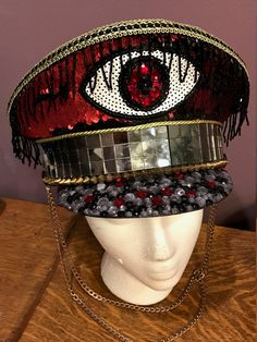 THE EMPEROR'S EYE  Captain's hat military style by LunarDisco