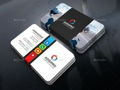 Buy Advertising Business Card by -axnorpix on GraphicRiver. Business Card Design, Business Cards, Tutoring Flyer, Commercial Design, Flyers, Landscape Design, Advertising, Typography, Branding