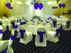 chair covers telford royal blue spandex folding 15 best balloons images balloon wedding shropshire fayre chairs contact email