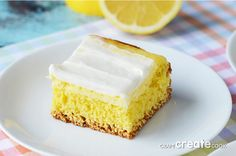 It's Kari again from CraftCreateCook! I'm so happy to be here sharing an amazing Easter dessert with you – Cream Cheese Lemon Bars. My mom always made Lemon Meringue Pie for Easter dinner. It was absolutely perfect — that swirl of meringue on the top was fluffy and toasted to perfection. But I have a …