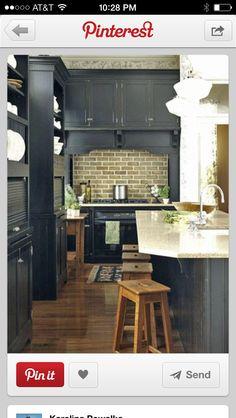 Kitchen Inspiration! Love Subway Tiles!