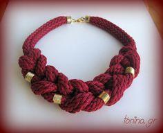 Η συλλογή Φθινόπωρο-Χειμώνας 2014 Necklaces, Bracelets, Crochet Necklace, Winter, Jewelry, Winter Time, Jewlery, Jewerly, Schmuck