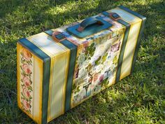 HACIENDO MANUALIDADES: VALIJA DE CARTÓN Decorative Boxes, Handmade, Crafts, Diy, Design, Home Decor, Christmas, Ideas, Jars