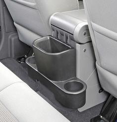 Vertically Driven Products Trash Can with Cup Holders for 07-10 Jeep® Wrangler & Wrangler Unlimited JK | Quadratec