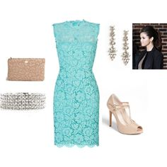"""Spring Wedding Guest"" by ashgoins on Polyvore"