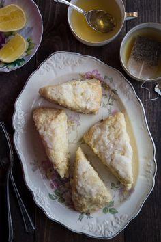 meyer lemon scones + a baby shower! - Jelly Toast