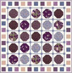 Asian Peony free quilt pattern https://hoffmanfabrics.com/EDocs/Site10/Asian%20Peony%20quilt%20pattern.pdf