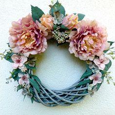 Summer Wreath, Grapevine Wreath, Grape Vines, Wreaths, Decor, Decoration, Door Wreaths, Vineyard Vines, Deco Mesh Wreaths