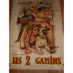 """Affiche du film""""Les 2 Gamins"""" - Greg' s boutique"""