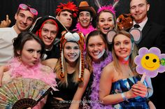 Book your Photo Booth for any kind of party - it will add a lot more color to your party!  www.zattuphotobooth.ca