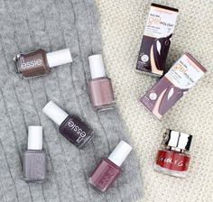 Rosy Disposition: Perfect Winter Nail Shades
