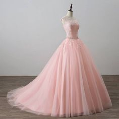 Pink Ball Gown Princess Quinceanera Dresses Girls Beaded Masquerade Prom Sweet 16 Dresses Ball Gowns vestidos de 15 anos-in Quinceanera Dresses from Weddings & Events on AliExpress Cute Prom Dresses, Sweet 16 Dresses, Pretty Dresses, Beautiful Dresses, Formal Dresses, Pink Quinceanera Dresses, Elegant Dresses, Sexy Dresses, Sweet Sixteen Dresses