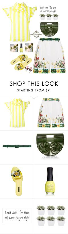 """Let the Love Flow....."" by prettynposh2 ❤ liked on Polyvore featuring Marques'Almeida, Dolce&Gabbana, Oscar de la Renta, Cult Gaia, ORLY, Abigail Ahern and Dolce"