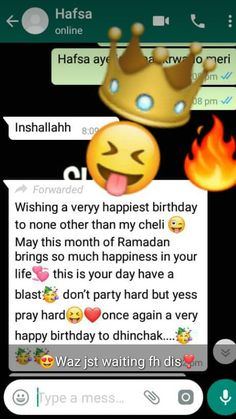 coolest b'day i got by dis Happy Birthday Wishes Bestfriend, Brother Birthday Quotes, Happy Birthday Text, Happy Birthday Quotes For Friends, Wishes For Friends, Brother Quotes, Boy Quotes, Family Quotes, Birthday Msg