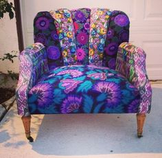 Marina Bohemian Chic Chair by Folk Project www.folk-project.com