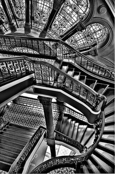 The Grand Staircase, Queen Victoria Building, Sydney Australia – photo by Philip Johnson