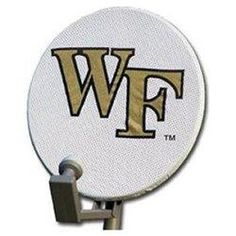 Wake Forest Demon Deacons Satellite Dish Cover