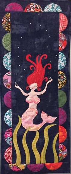 MerGirl quilt | BadAss Quilters Society