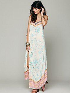 Free People Wild Devine Dress in Dresses