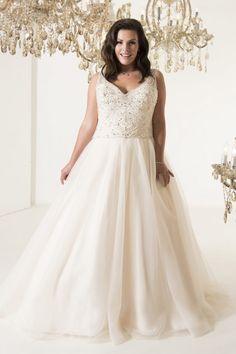 Boscoe | Callista Plus Size Wedding Dresses