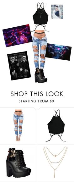 """""""Exo-monster girl outfit"""" by lexi6140 ❤ liked on Polyvore"""