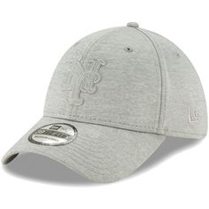 brand new bb3e2 b8d19 New York Mets New Era Logo Shade 39THIRTY Flex Hat - Gray