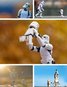 Storm Trooper dad/kid