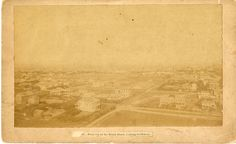 View of Galveston from top of the Beach Hotel, 1899