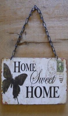 """Home Sweet Home""..Made Like A Very Old Letter"