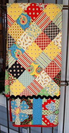 Love Mary Engelbreit's prints.  Mary's Quilt by pipersquilts, via Flickr