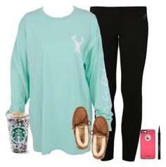 """""""toasted graham lattè"""" by emmig02 ❤ liked on Polyvore featuring NIKE, Elizabeth Arden, UGG Australia, women's clothing, women's fashion, women, female, woman, misses and juniors"""